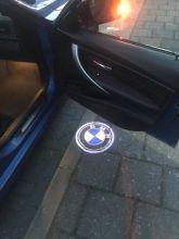 LED проекция, логотип Bmw на выбор, на 2 двери