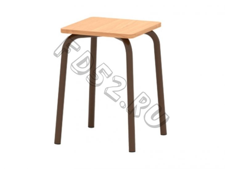 Табурет для столовой с пластиковым покрытием