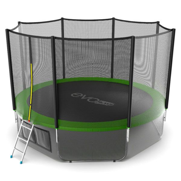 EVO JUMP External 12ft (Green) + Lower net