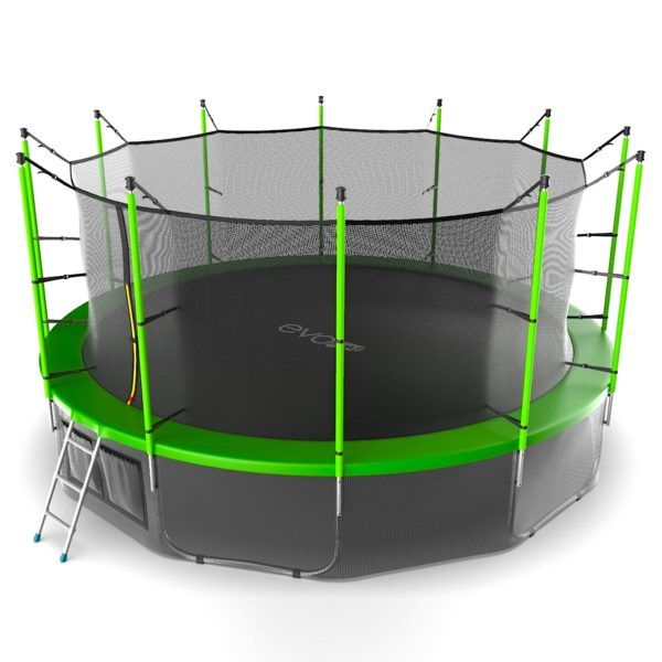 EVO JUMP Internal 16ft (Green) + Lower net