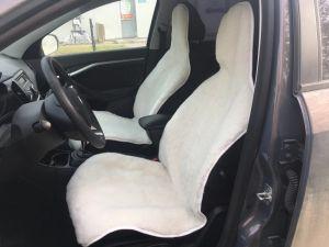 Меховые накидки на кресло автомобиля