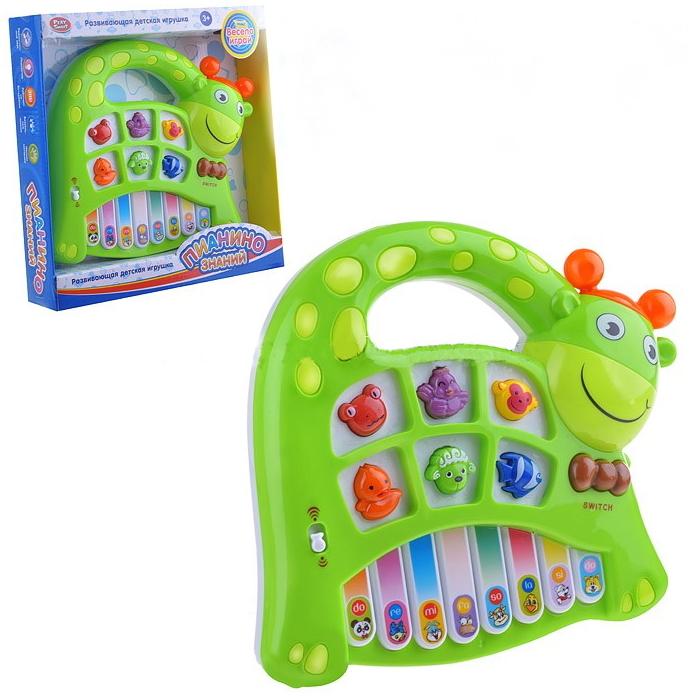 """Развивающая игрушка """"Пианино знаний"""" - Жираф (свет, звук)"""