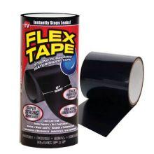 """Сверхсильная клейкая лента Flex Tape (Флекс Тайп), 8"""", Чёрный"""
