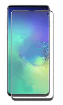 Защитное стекло противоударное PALMEXX для Samsung Galaxy S10E 5D полный экран черное