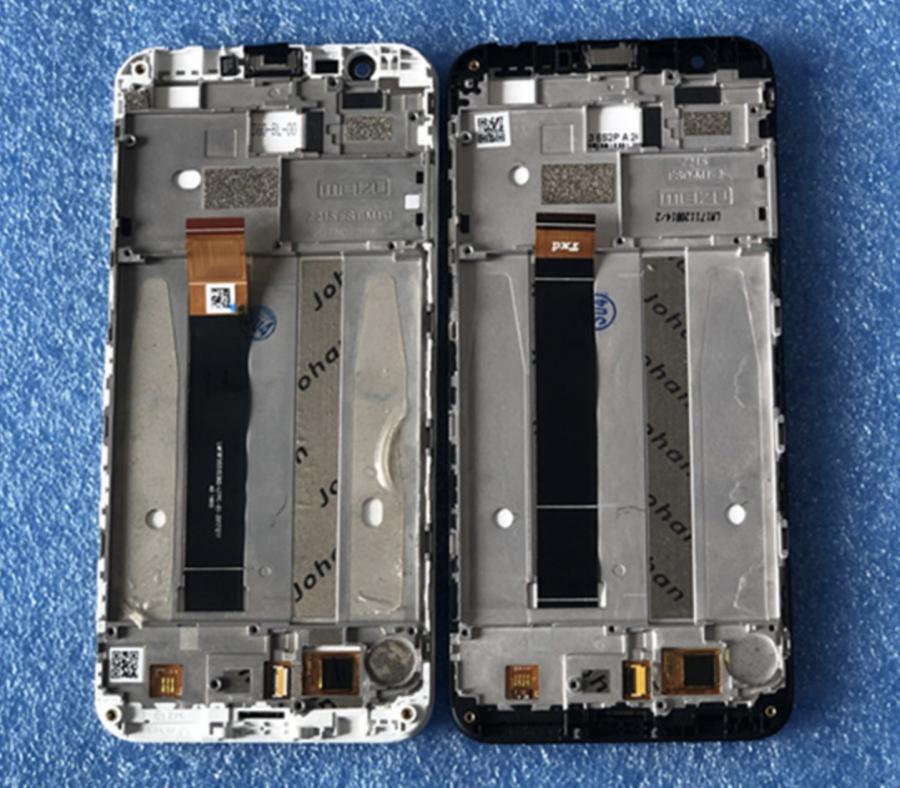 LCD (Дисплей) Meizu M8c (в сборе с тачскрином) (в раме) (black) Оригинал
