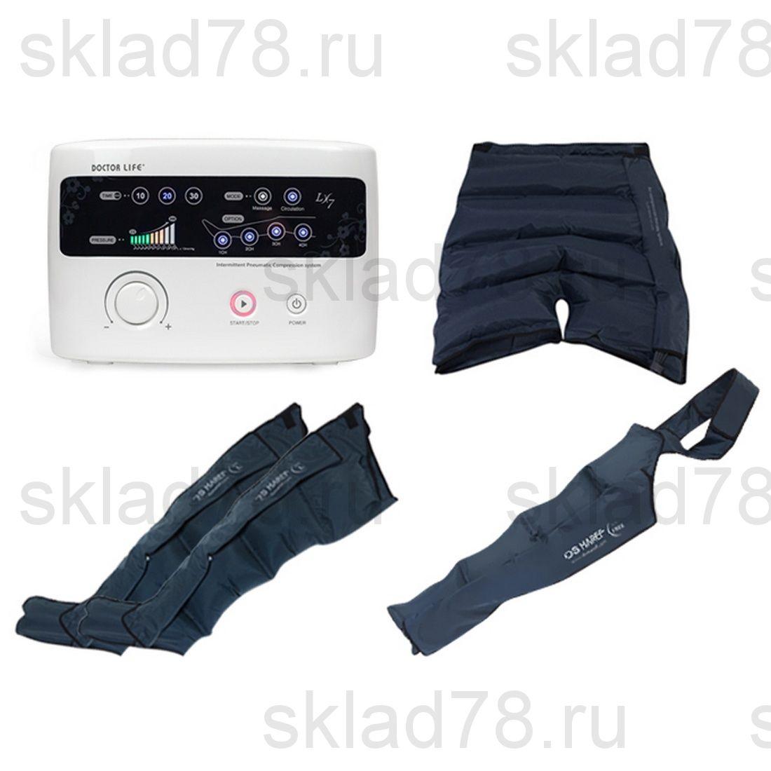 """Doctor Life LX-7 лимфодренажный аппарат """"Ноги + Шорты + Рукав"""""""