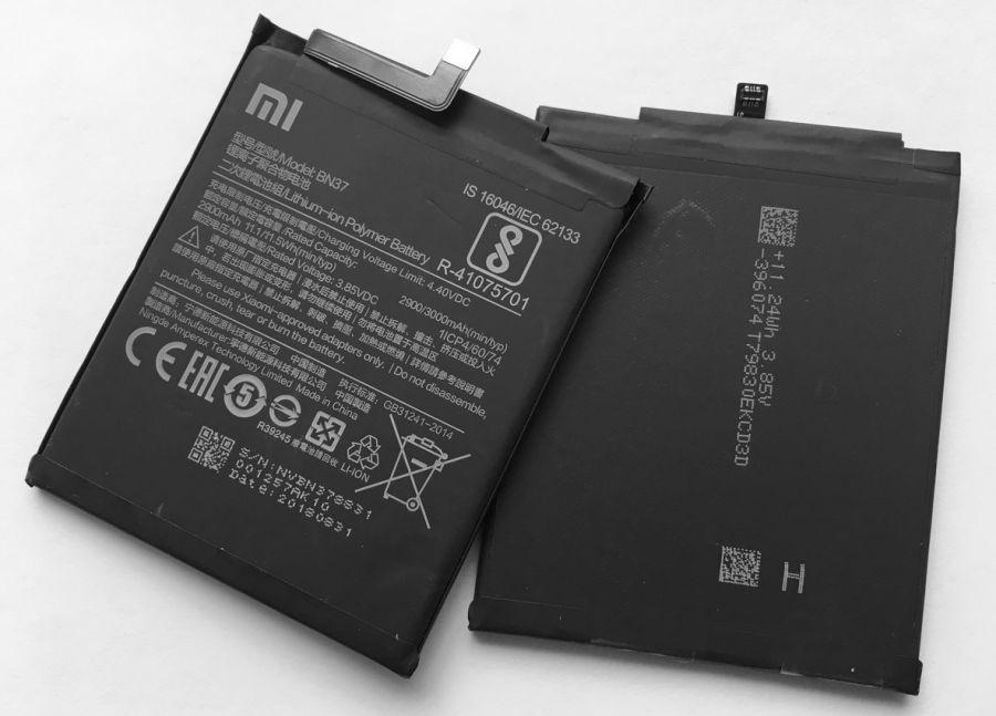 Аккумулятор Xiaomi Redmi 6/Redmi 6A (BN37) Оригинал
