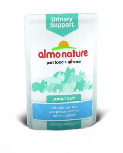 Almo Nature Паучи с рыбой для профилактики мочекаменной болезни у кошек (Functional - Urinary Support with Fish) 70 гр.