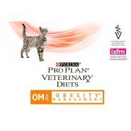 Pro Plan VD Feline OM Obesity Management - Диетический корм для кошек при ожирении (350 г)