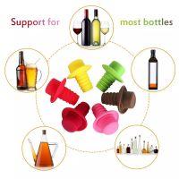 Пробка для бутылок Шляпа Silicone Bottle Stoppers (1)