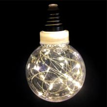 Ретро-лампа со светодиодной нитью, 8 см, 1 шт, Цвет света: Белый тёплый