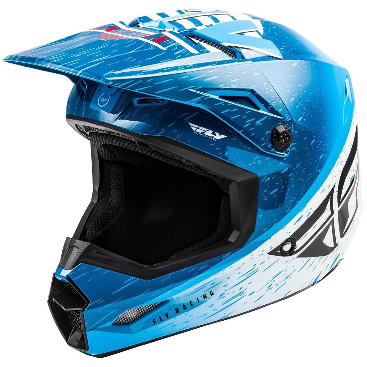 Fly Racing - 2020 Kinetic K120 шлем, сине-бело-красный