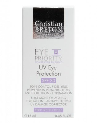 Крем защитный для кожи вокруг глаз SPF 30 Christian Breton, 15 мл