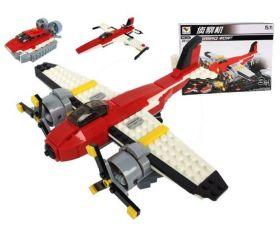 Конструктор 3 в 1 Самолет Истребитель Вездеход Lego реплика 239 деталей