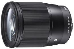 Объектив Sigma AF 16mm f/1.4 DC DN Contemporary Sony E
