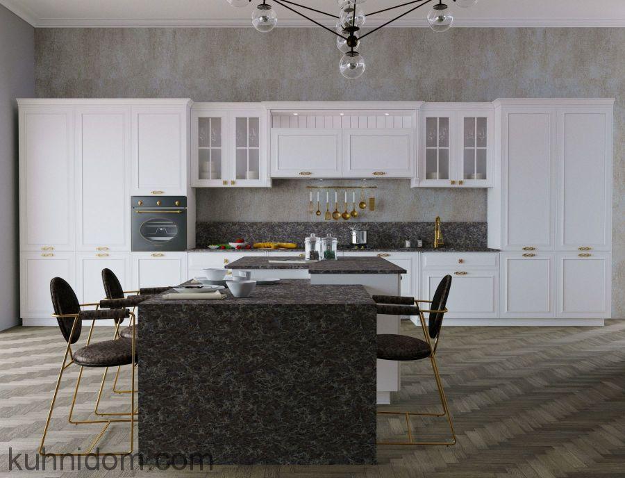 Кухня Blackberry Белая