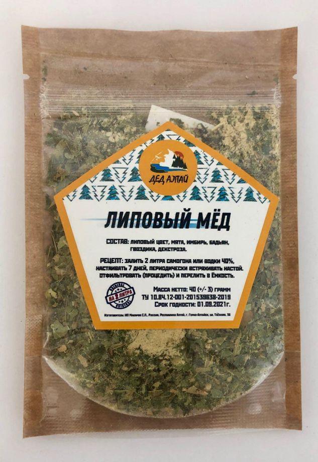 Липовый Мед, 40 гр (на 2 литра)