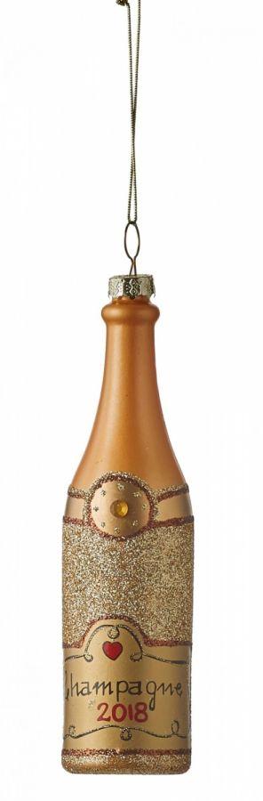 Бутылка коричневая