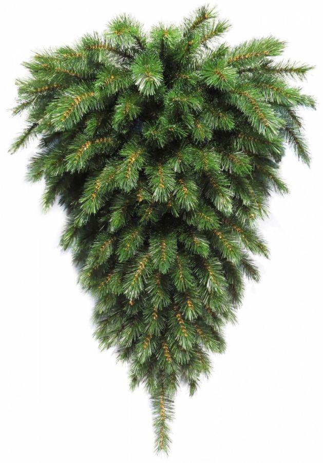 Триумф елка-перевертыш Лесная Красавица пристенная 60 см