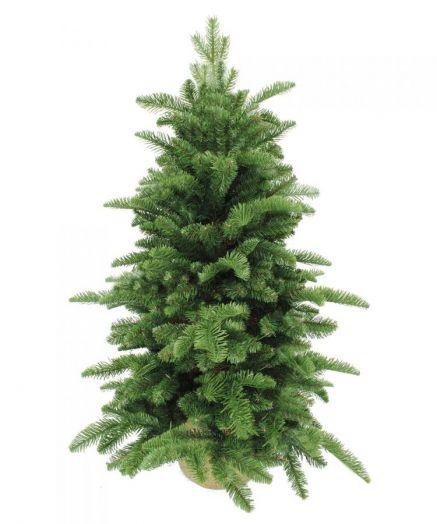 Искусственная елка Нормандия 60 см в мешочке темно-зеленая