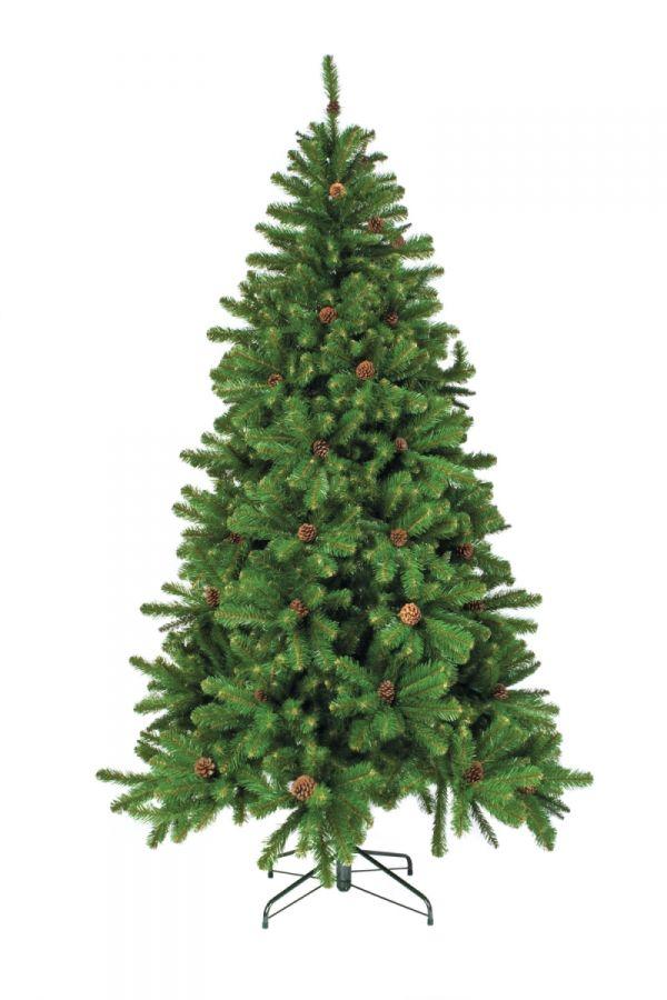 Искусственная елка Импeрaтрицa c шишкaми 200 cм зeлёнaя