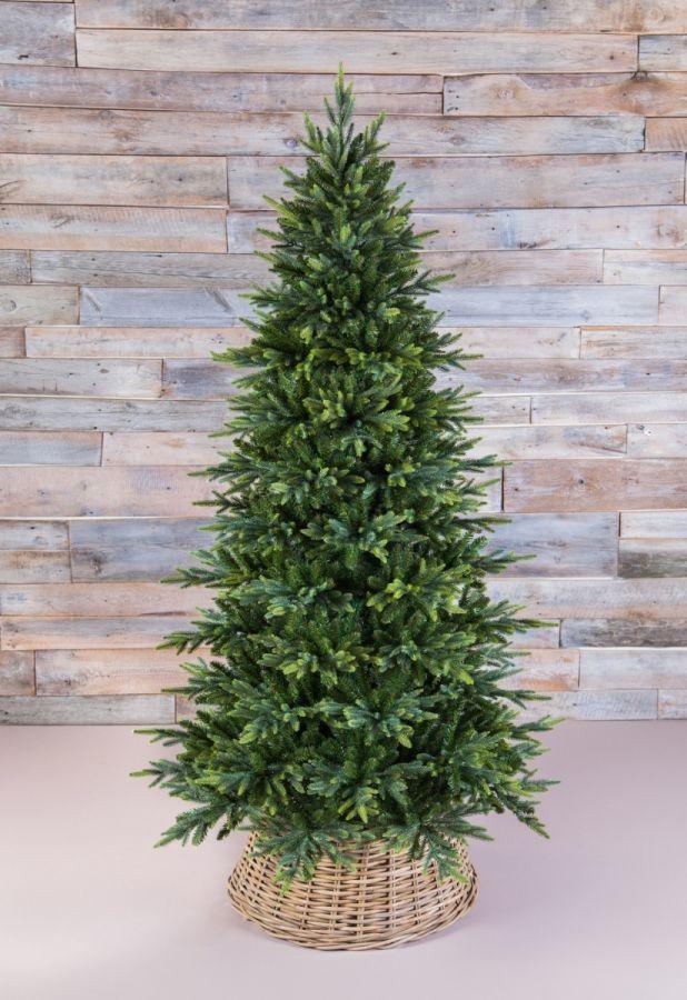 Искусственная елка Королевская стройная 185 см зеленая
