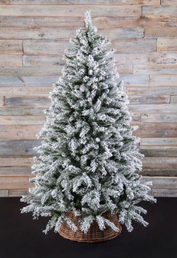 Искусственная елка Атлантида 215 см заснеженная