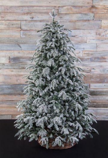 Искусственная елка Стильная 185 см заснеженная