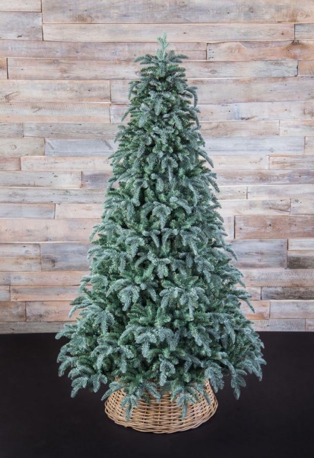 Искусственная елка Нормандия пушистая 230 см голубая