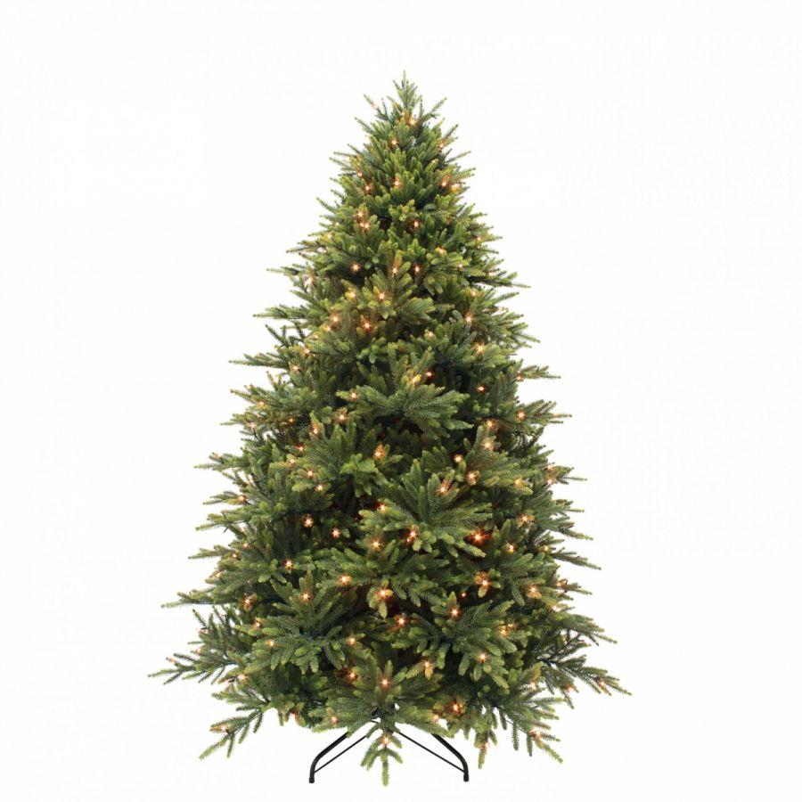 Искусственная елка Королевская премиум 230 см 376 ламп зеленая