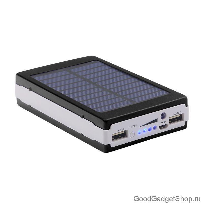 Портативный аккумулятор Solar Charger 25000 mAh