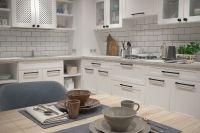 Кухня Lugano Белая