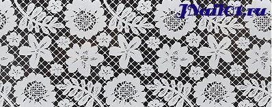 Фольга Белое кружево 9