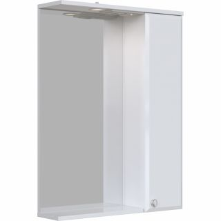 Зеркальный шкаф Sanstar Селена 60 с подсветкой