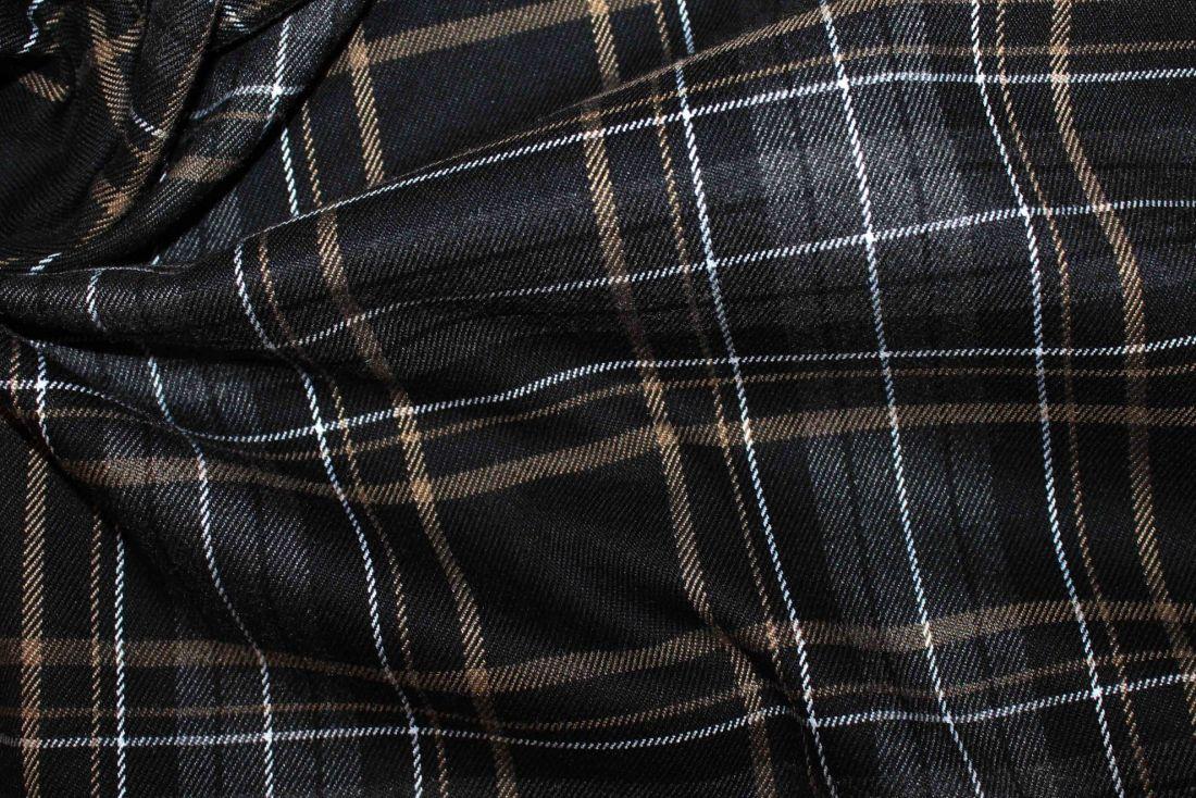Костюмная ткань VT-10253/D2/black/grey