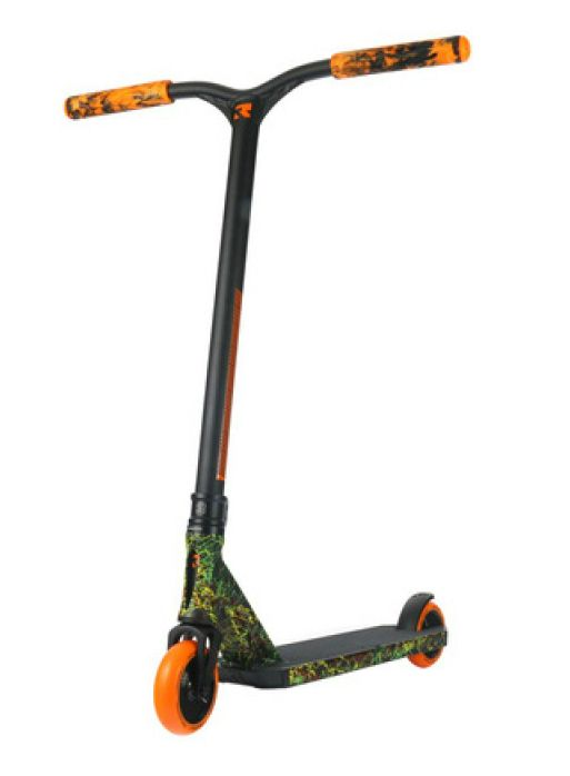 Самокат Root Industries Invictus Black/Orange/Yellow