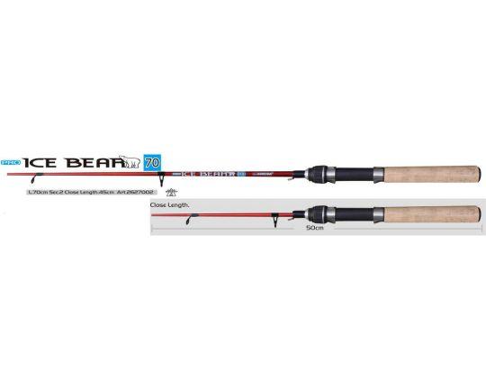 Удочка   зимняя   SWD Ice Bear PRO L-70cm