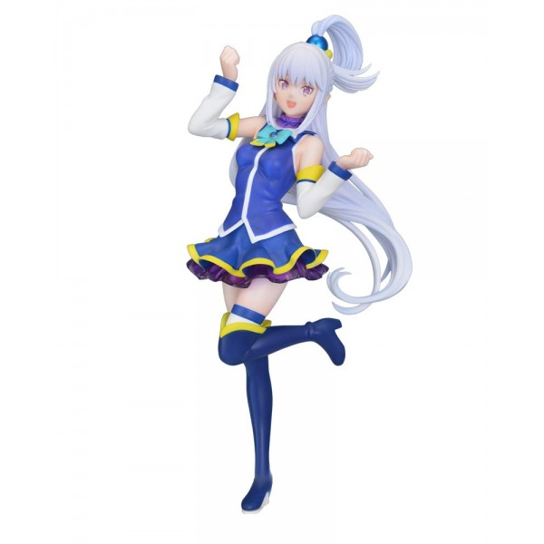 Аниме фигурка Re:ZERO - Эмилия Emilia Aqua Ver.