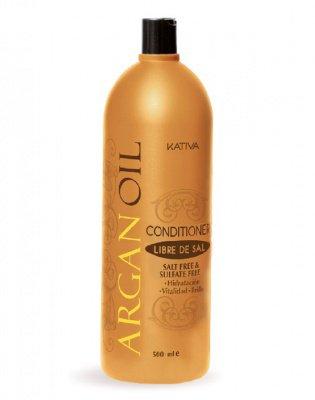 Увлажняющий кондиционер для волос с маслом Арганы ARGAN OIL Kativa, 500 мл.