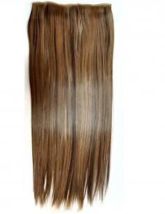 Искусственные термостойкие волосы на заколках на трессе №F4/27 (55 см) - 1 тресса, 100 гр.