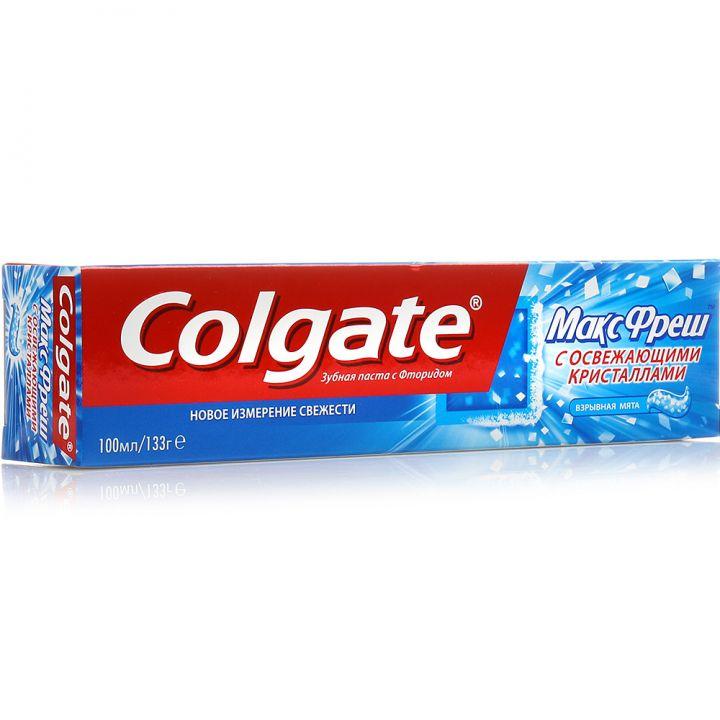 Зуб. паста Colgate 100мл МАКСфрэш взрывная мята