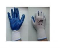Перчатки нейлоновые обрезиненные Макси