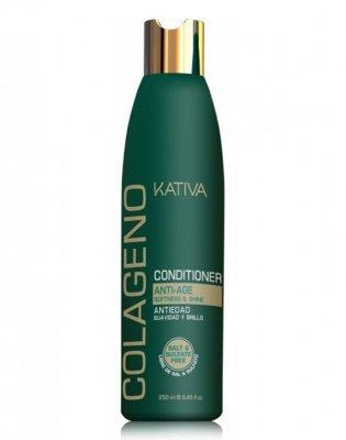 Кондиционер для волос коллагеновый COLLAGENO Kativa, 250 мл.