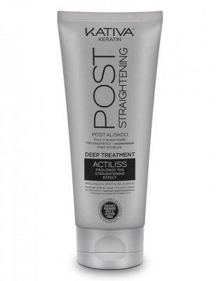 Маска поддерживающая и продлевающая эффект выпрямления волос IRON FREE Kativa, 200 мл
