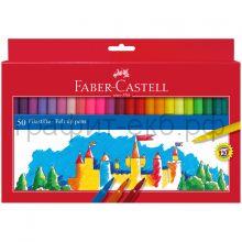 Фломастеры 50цв.Faber-Castell Замок 554250