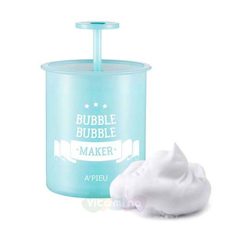 A'Pieu Стакан-помпа для создания пышной пены Bubble Bubble Maker Mint