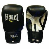 Перчатки Everlast. Цвет черный. Внешний слой - специальный полиуретан