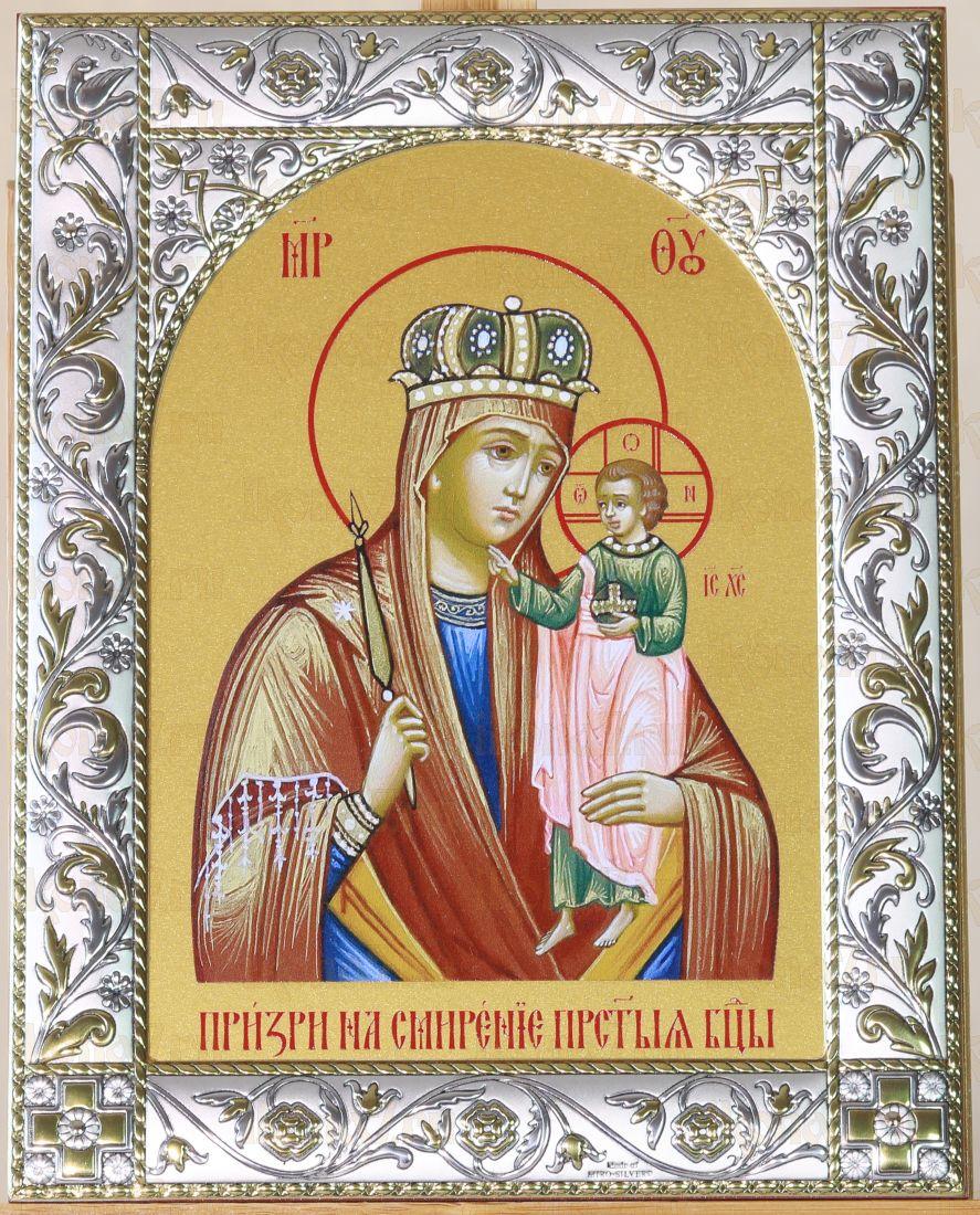 Призри на смирение икона Божией Матери (14х18см)