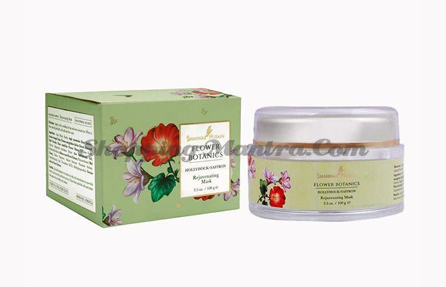 Омолаживающая маска Холлихок Шафран Шахназ Хусейн | Shahnaz Husain Flower Botanics Hollyhock Skin Rejuvenating Mask