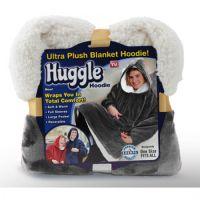 Толстовка-плед с капюшоном Huggle Hoodie, цвет серый (1)